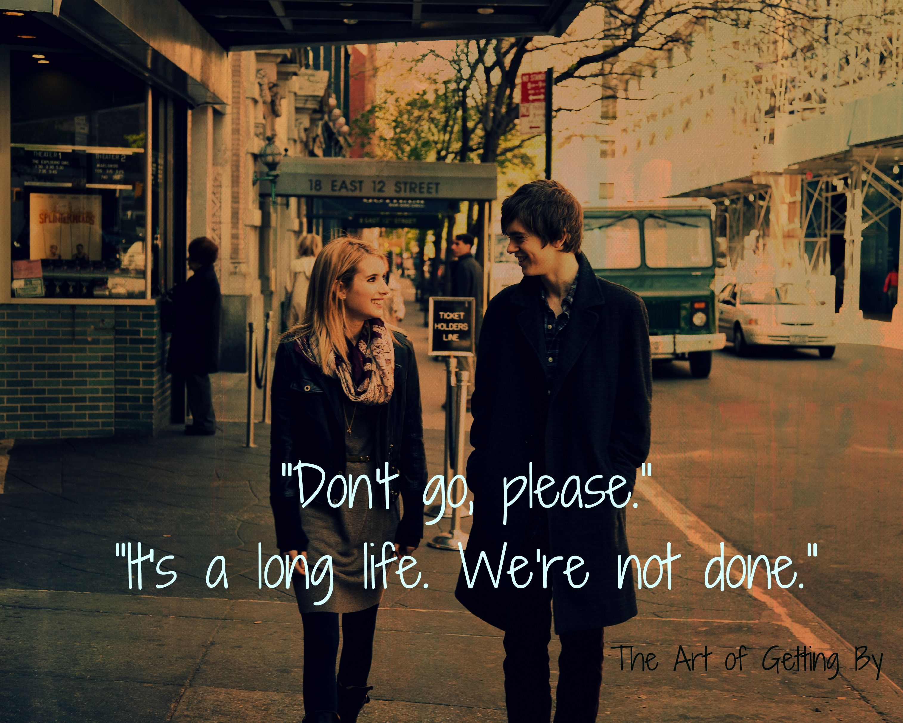 The Art Of Getting By Love This Movie People And Things I
