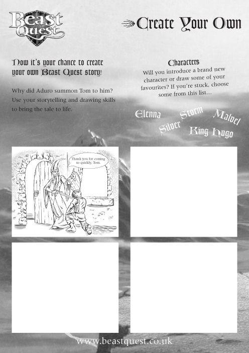 beast quest malvorlagen english  tiffanylovesbooks