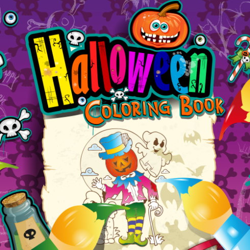 halloween coloring book for kids android app google play httpsplay