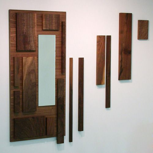 Decorar paredes con tablas de madera Creatividades Pinterest