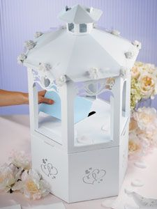 Wishing Well Reception Gift Card Holder A Charming Display For Any Shower Wedding Or