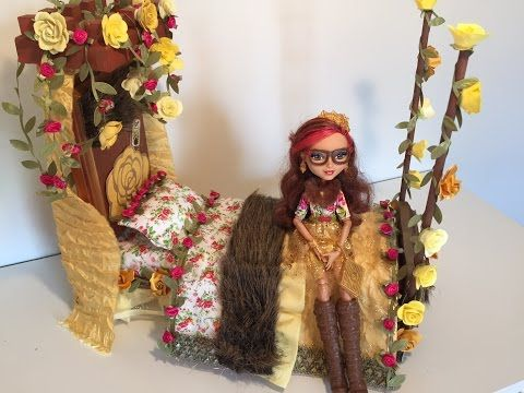 Rosabella Beauty Doll Bed Remake Ever After High