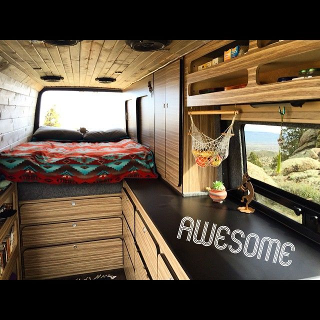 24 Tips For Designing Your Sprinter Van Layout
