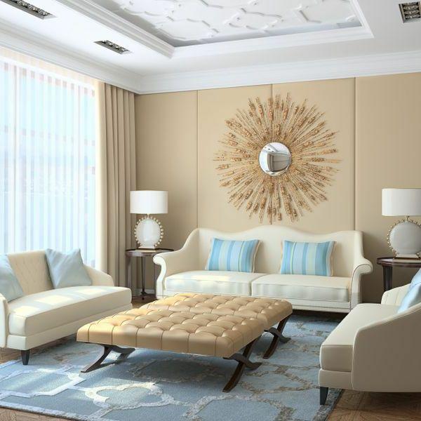 wohnzimmer beige braun home design inspiration. wandgestaltung ...