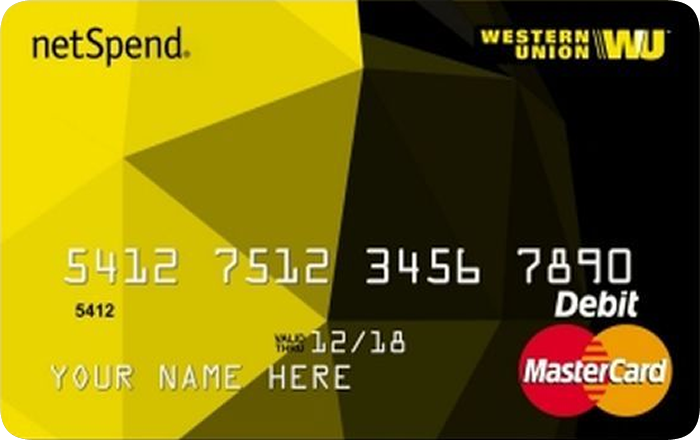 Western Union® NetSpend™ Prepaid Mastercard® in 2020