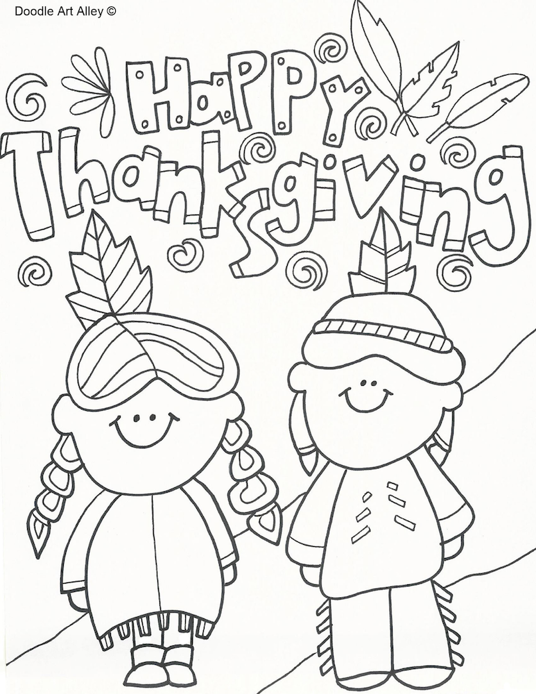 Coloring pages of thanksgiving things coloring pages for Activity coloring pages