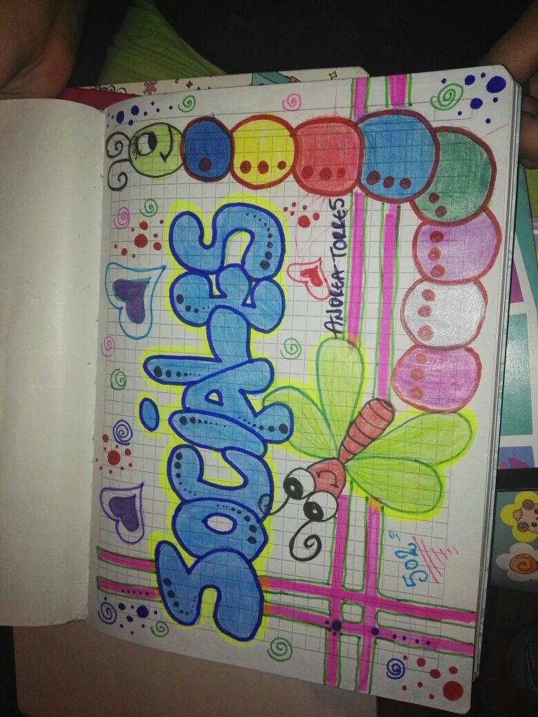 Pin De Creativos En Letras Marcas De Cuadernos Caratulas
