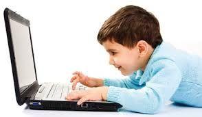 los niños con la tecnologia