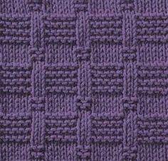 Photo of Strickmuster (besonders gut für Decken und viel einfacher als es …
