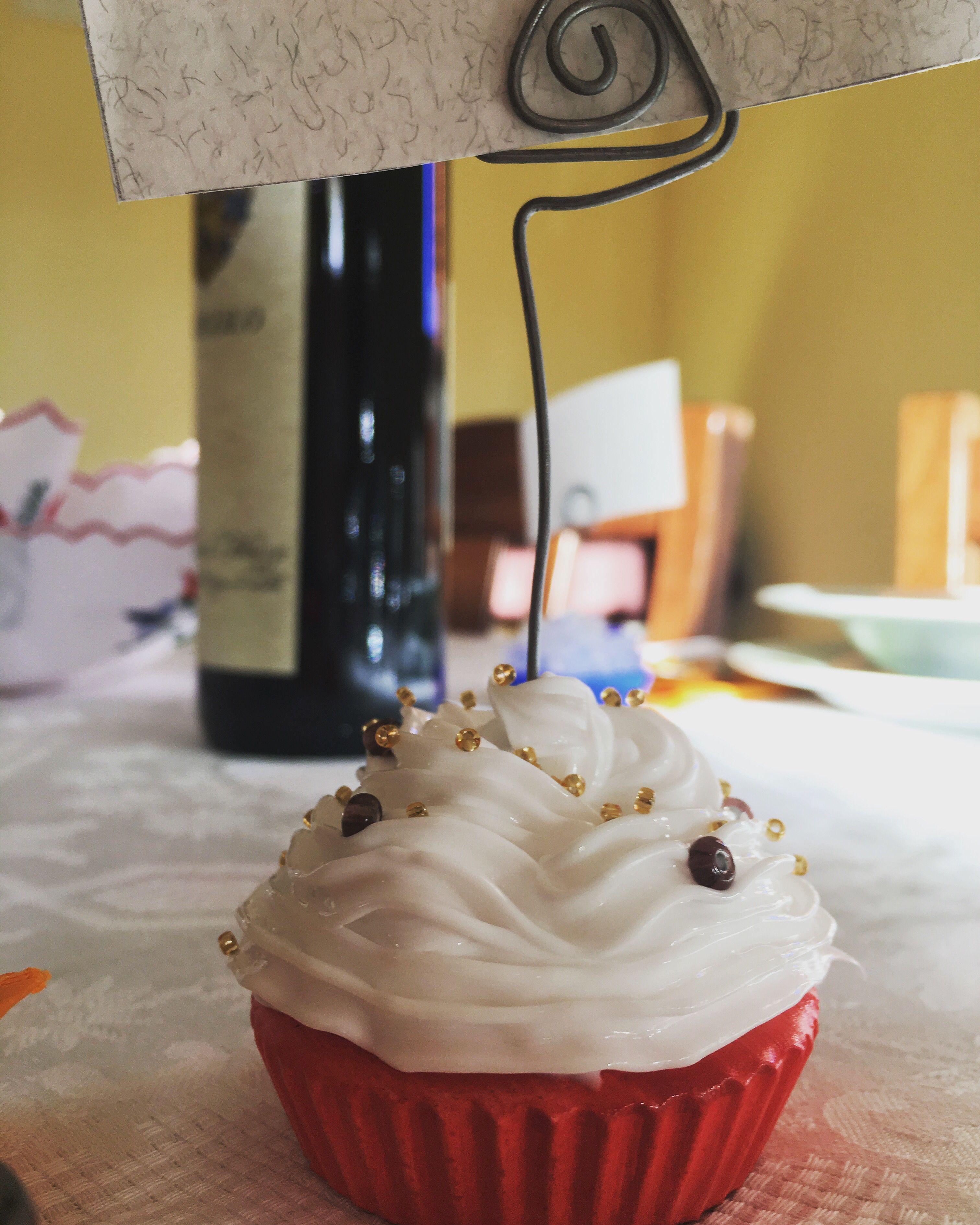 Cupcake Matrimonio Segnaposto.Capcake Segnaposto Per Serate Tra Amici Segnaposto Matrimonio