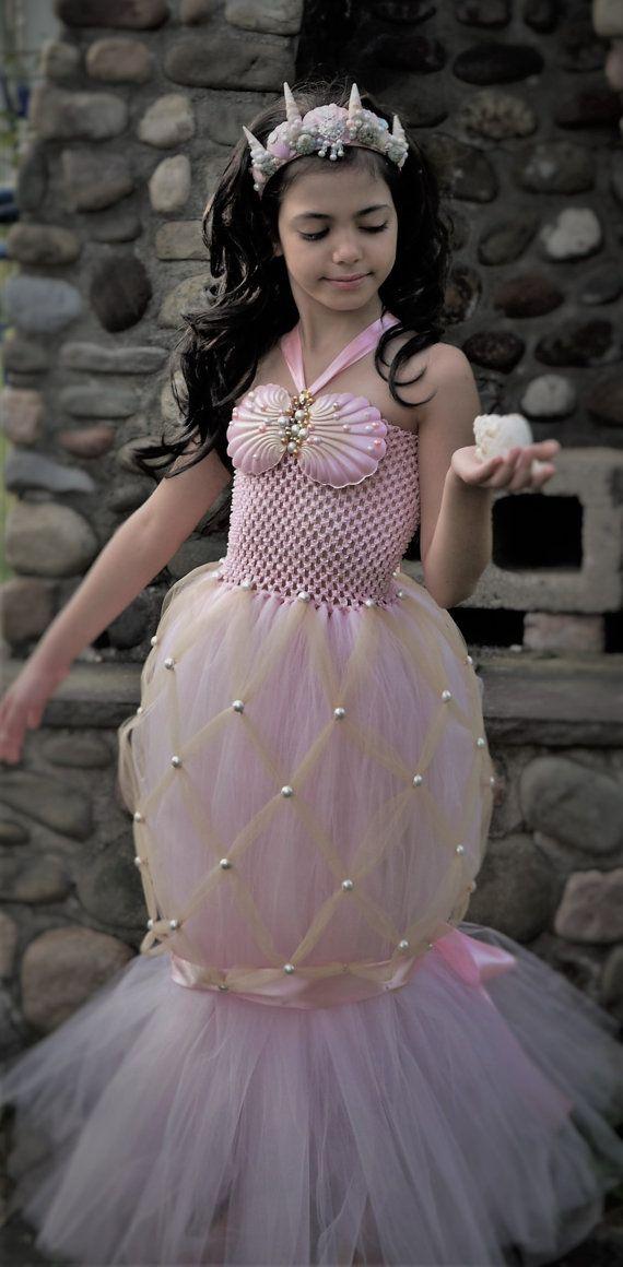 5c6b5e7b1e6ac Mermaid Tutu · Mermaid Tails · Little Mermaid Dresses · Check out this item  in my Etsy shop https://www.etsy.