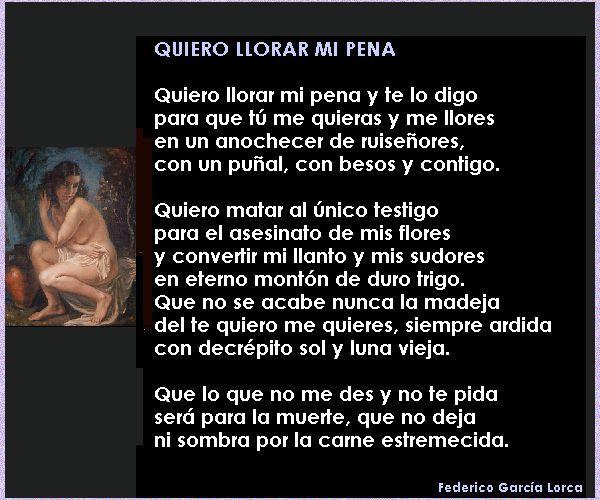 Federico García Lorca Poemas Románticos Poemas Cortos Poemas