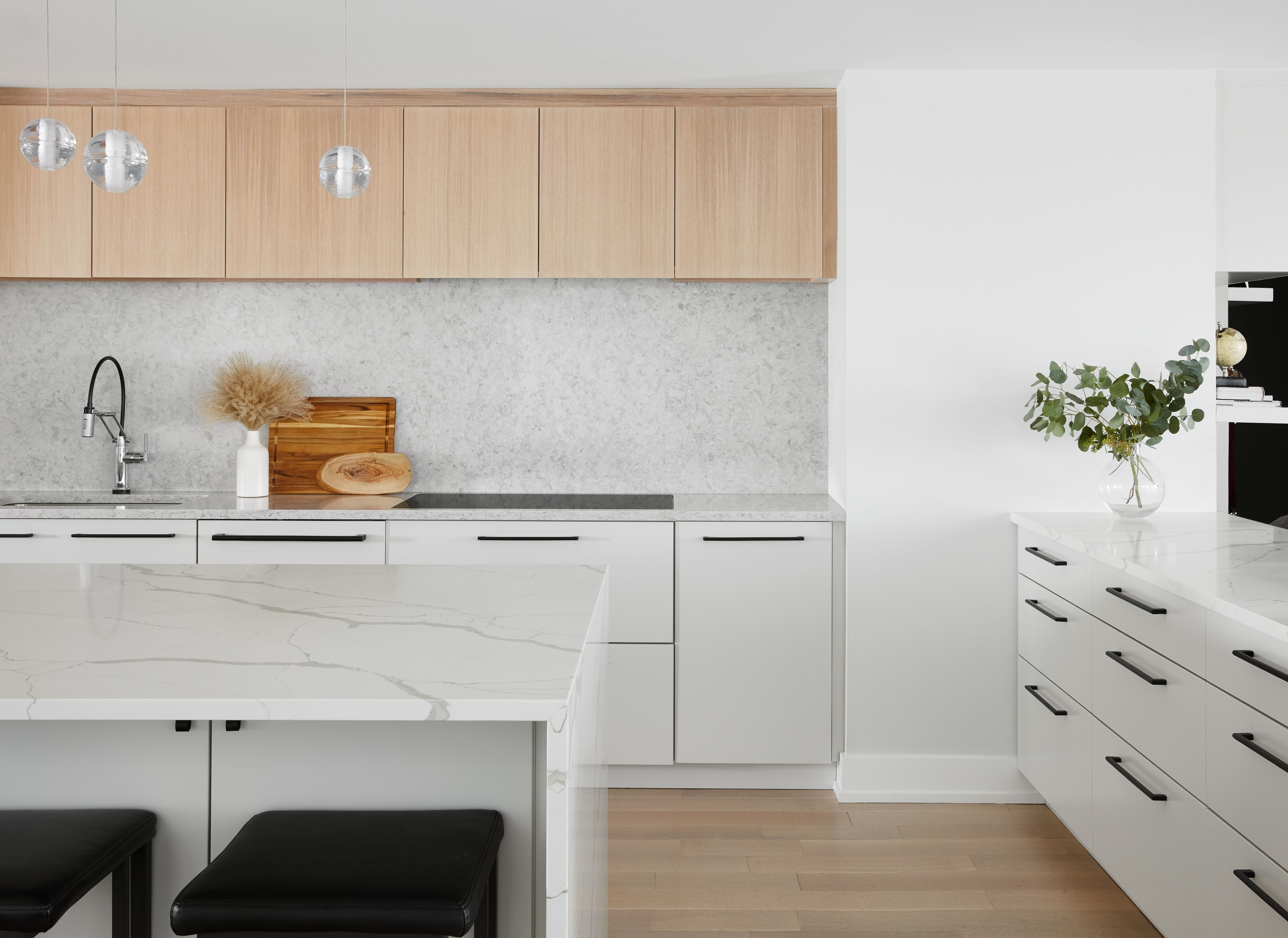 Modern Scandinavian Kitchen   White modern kitchen, Modern ...