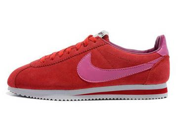 finest selection d1bb2 a0de0 order nike classic cortez vintage suede trainers gym red pink women 1a310  3f8fb