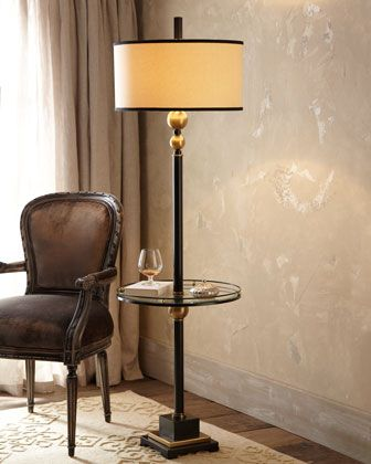 Revolution floor lamp at horchow lamp pinterest floor lamp revolution floor lamp at neiman marcus sleek floor lamp with modern appeal sports a tempered glass tray about its midsection metal and resin lamp has a aloadofball Images