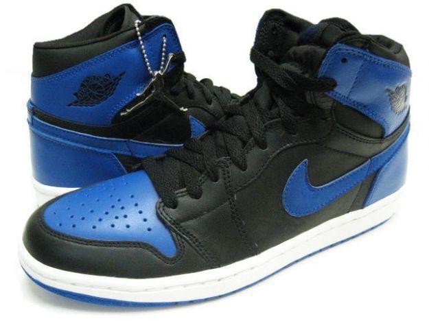 air jordan blue black