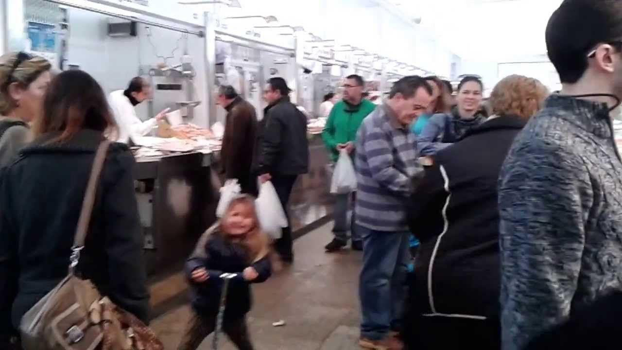 En el Mercado de Abastos de Cádiz