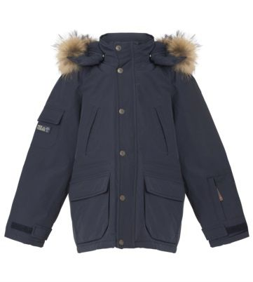 Eskimos-jacket with fur from Ver de Terre. Very classic design and fitting, while being practical for your child! Read more on our website.