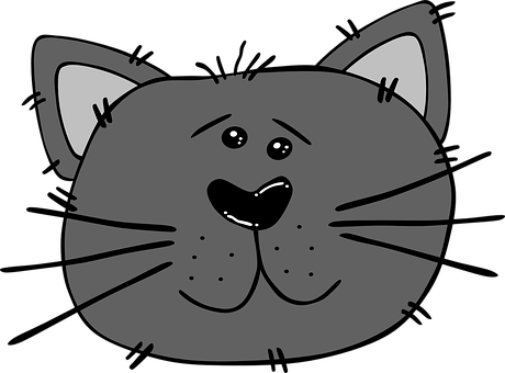 Free Image On Pixabay Cat Angry Face Feline Carnivore Cat Clipart Cat Face Cartoon Cat