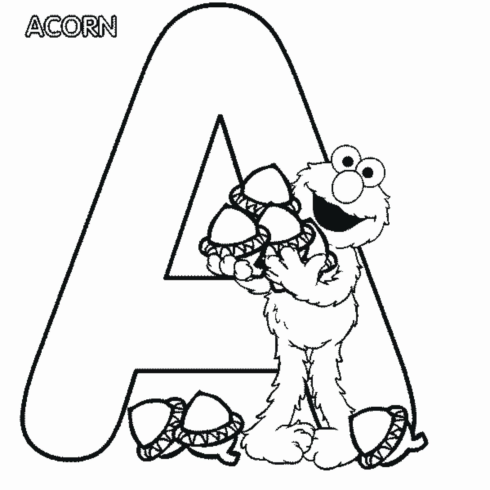 Coloring Sheets Alphabet Letters In