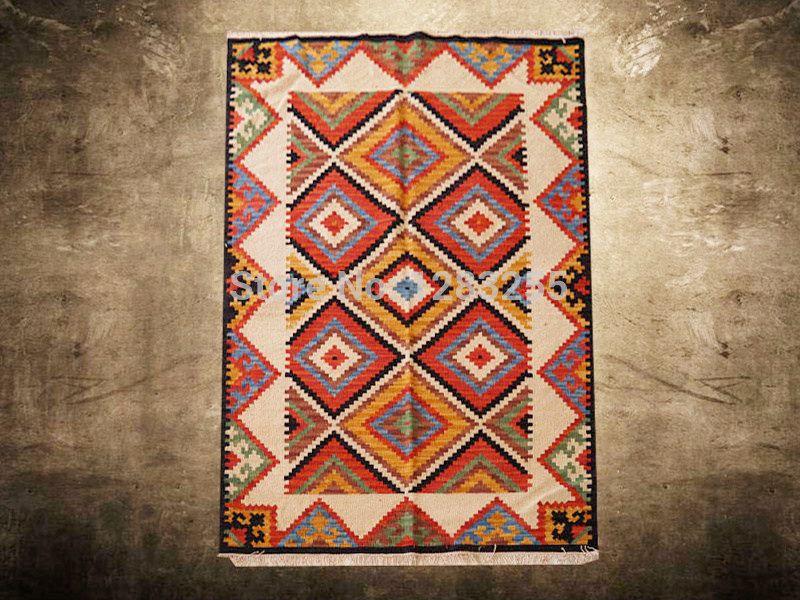 Goedkope Vloerbedekking Slaapkamer : Goedkope woonkamer tapijt marokkaanse handgemaakte productie vloer