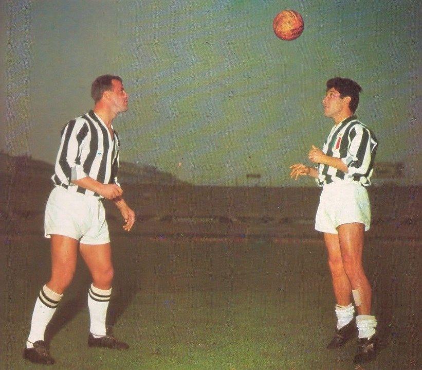 William John Charles e Enrique Omar Sívori - Juventus (avec images ...