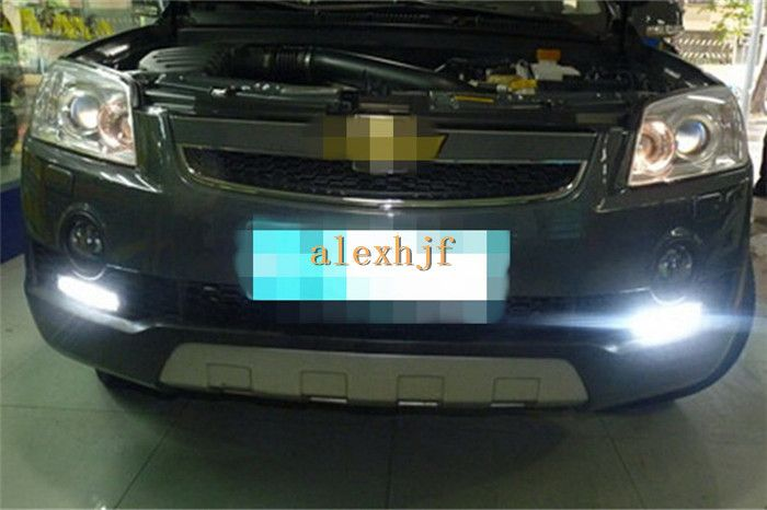 July King Led Daytime Running Lights Drl With Fog Lamp Cover Led