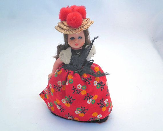Vintage Traditional Costume Doll  Black Forest  by P8iosities