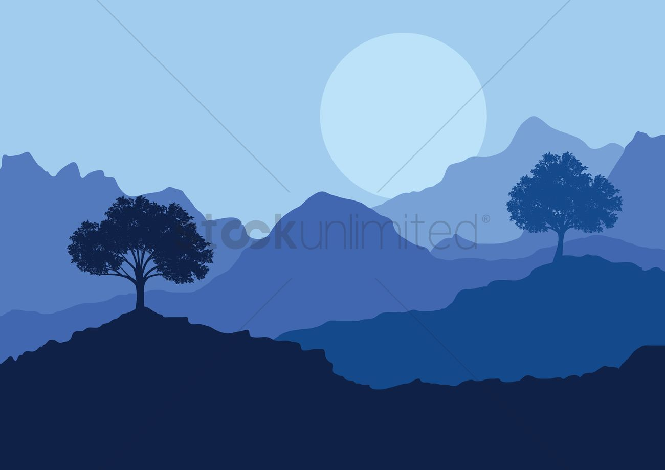 Forest landscape with beautiful nature background - nature background  clipart   Neat