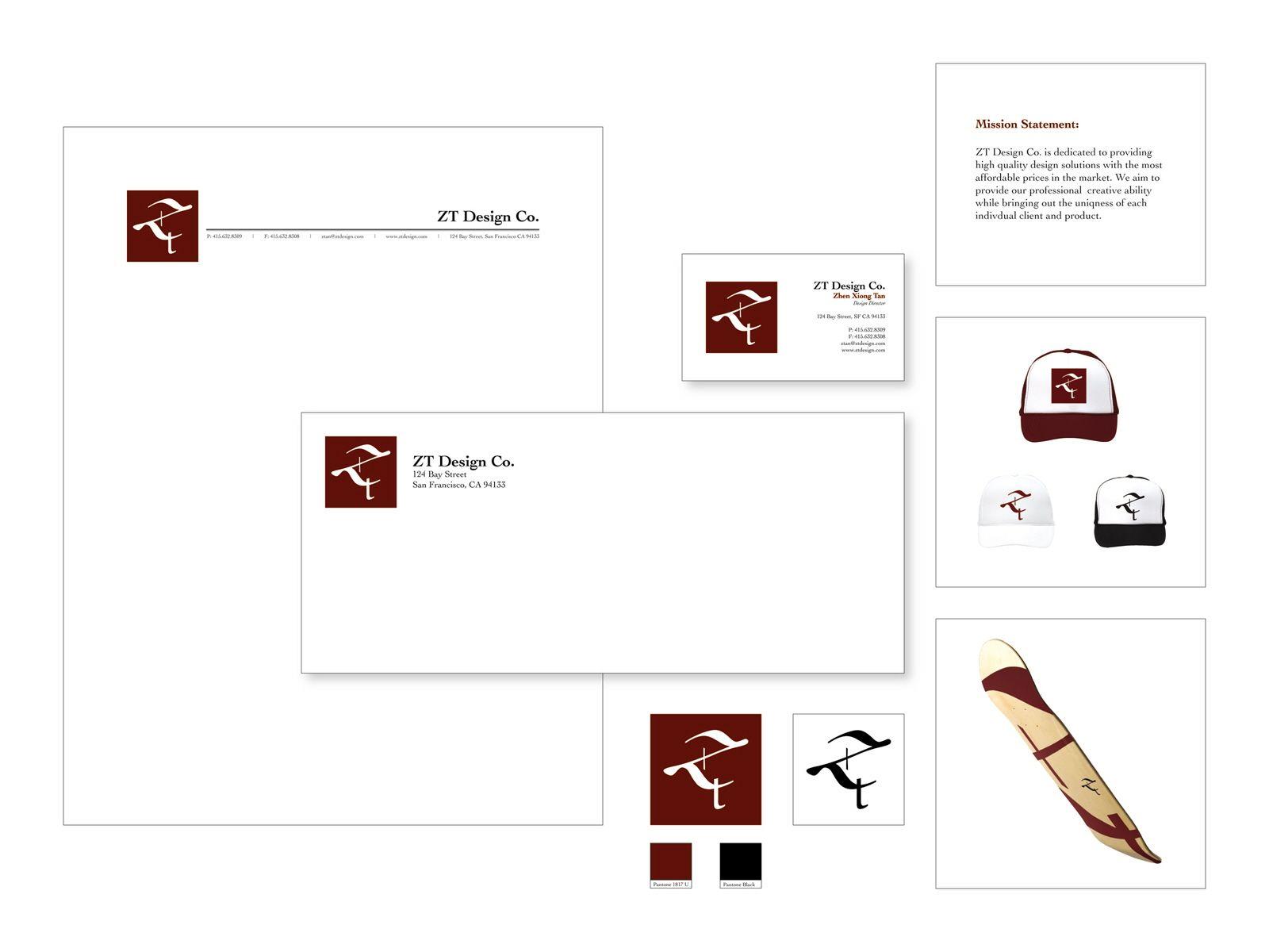 Letterhead system by Zhen Xiong Tan | letterhead, business card ...