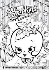 Shopkins Coloring Pages Season 1 Apple Blossom Shopkins Party