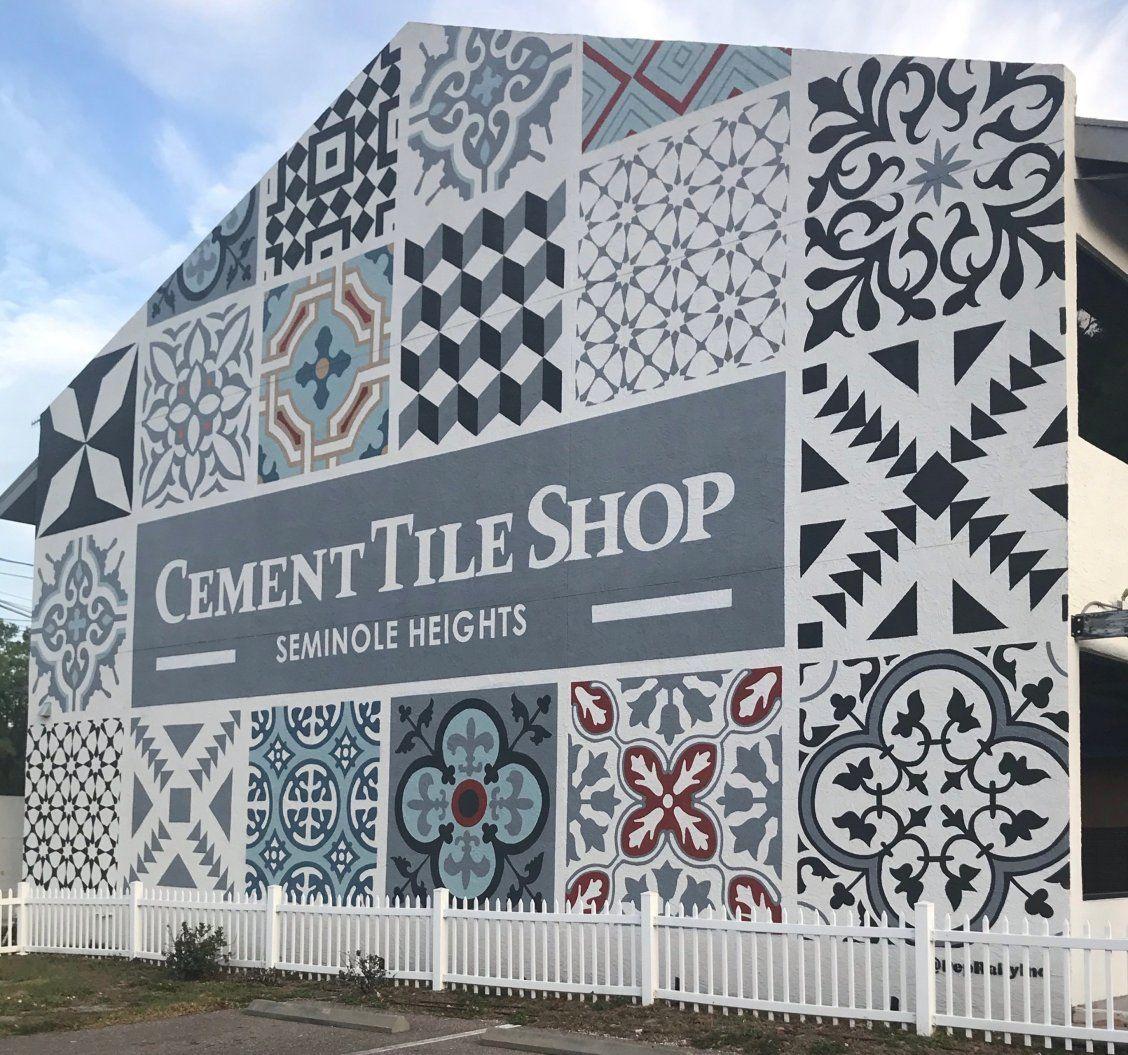 cement tile shop mural tampa fl