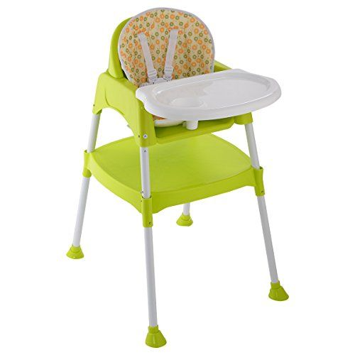 Giantex 3 In 1 Baby High Chair Convertible Table Seat Booster
