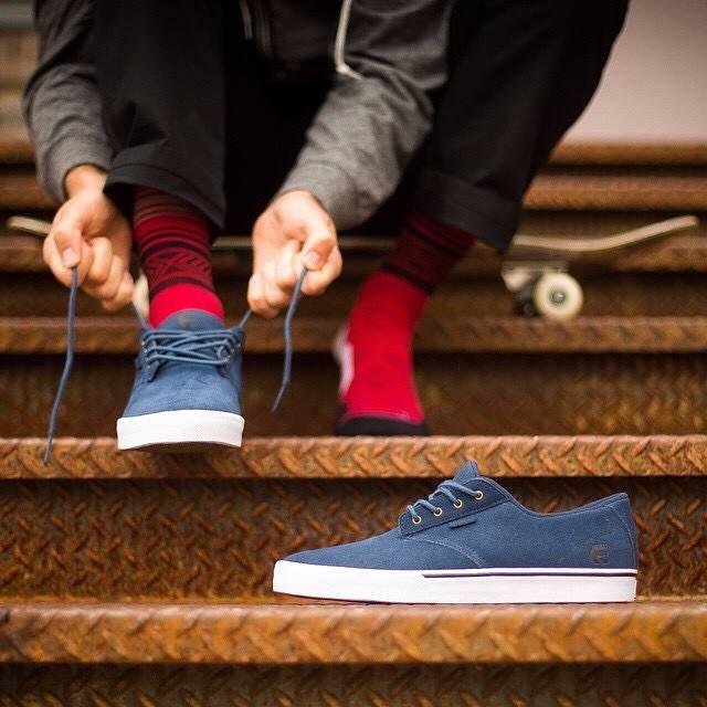 timeless design 9f72f 8aa63 Etnies Jameson Vulc Blue Shoes