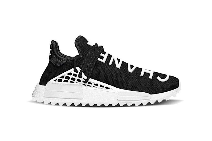 huge selection of f0954 74ee3 Pharrell Williams x adidas NMD Human Race x Chanel: Fake or ...