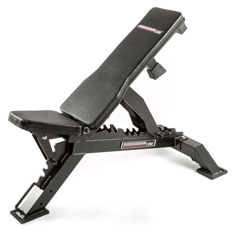 Barbarian Line Warrior Adjustable Bench Maquina De Pesas Gimnasio En Casa Aparatos De Gym