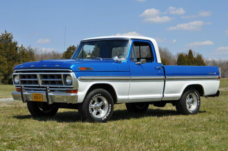Ford F 100 Ranger In F 100 Ebay Ford Trucks Old Ford Trucks Ford Pickup Trucks