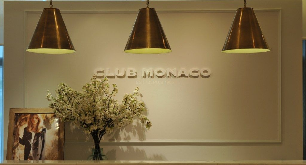 #ClubMonaco at IFC mall in Hong Kong