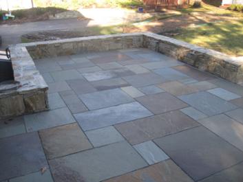 Patio Materials The Cost Of Bluestone Patios Bluestone Patio Flagstone Patio Design Stone Patio Designs