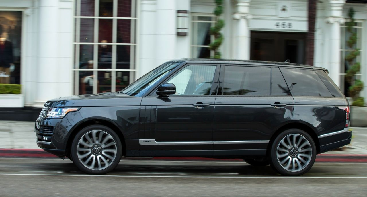 From the depths of space: First ride in the Range Rover LWB   Classic Driver Magazine