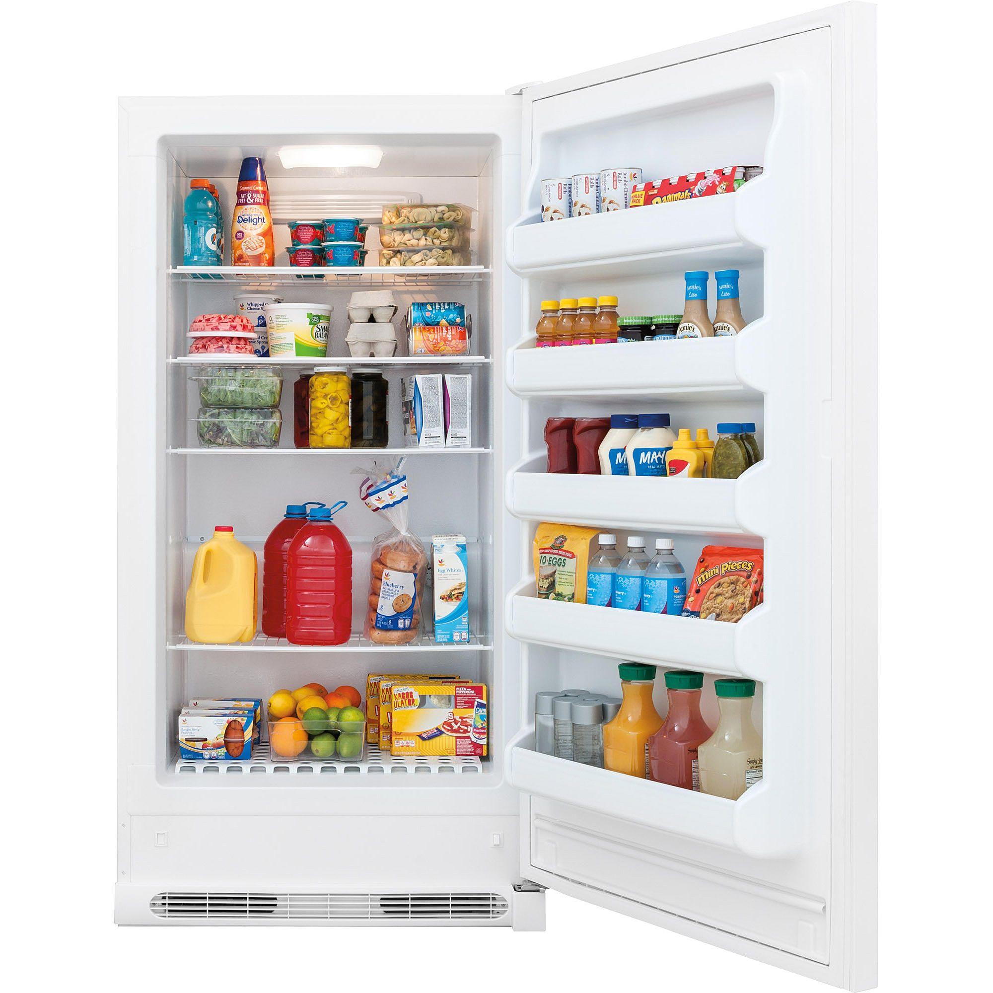 Frigidaire 17 Cu Ft Freezerless Refrigerator White Ffru17b2qw Freezerless Refrigerator Frigidaire Wire Pantry Shelves