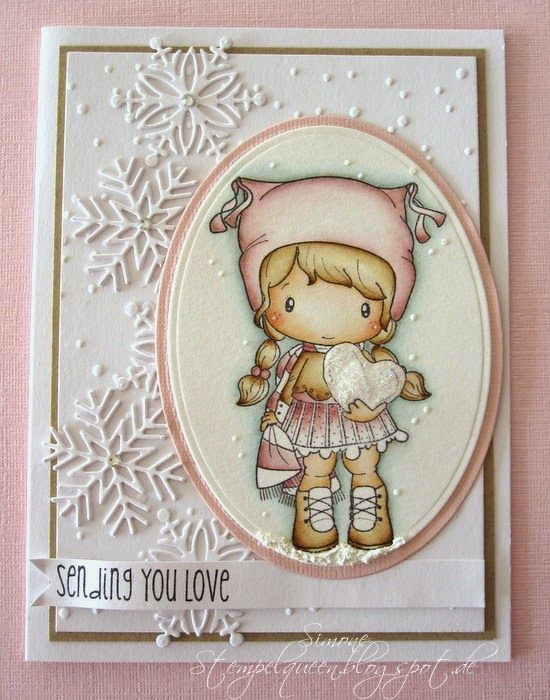 CC Designs stamp & snowflakes