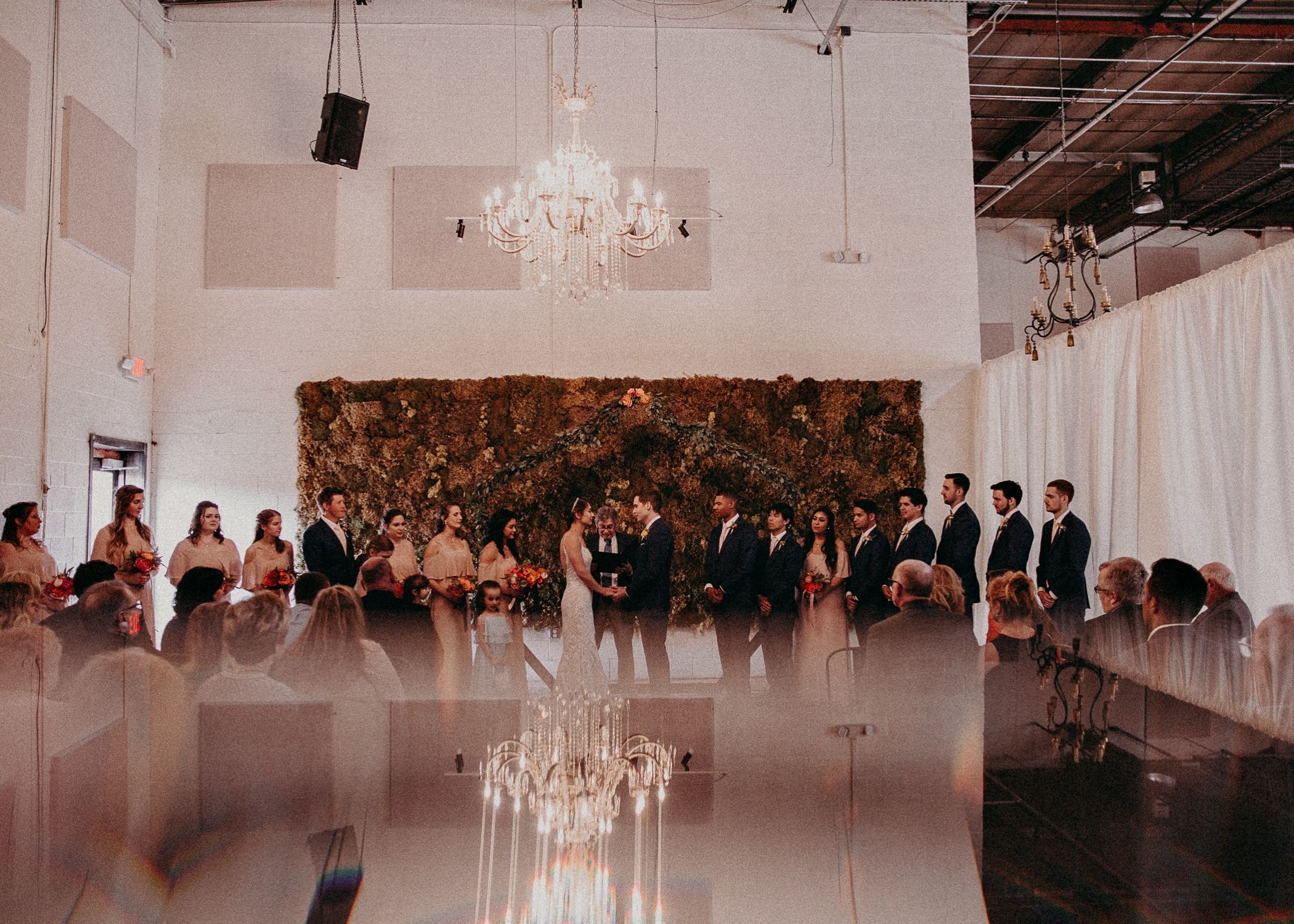 Monday Night Garage Wedding Ceremony Wedding Monday Night Wedding Inspo