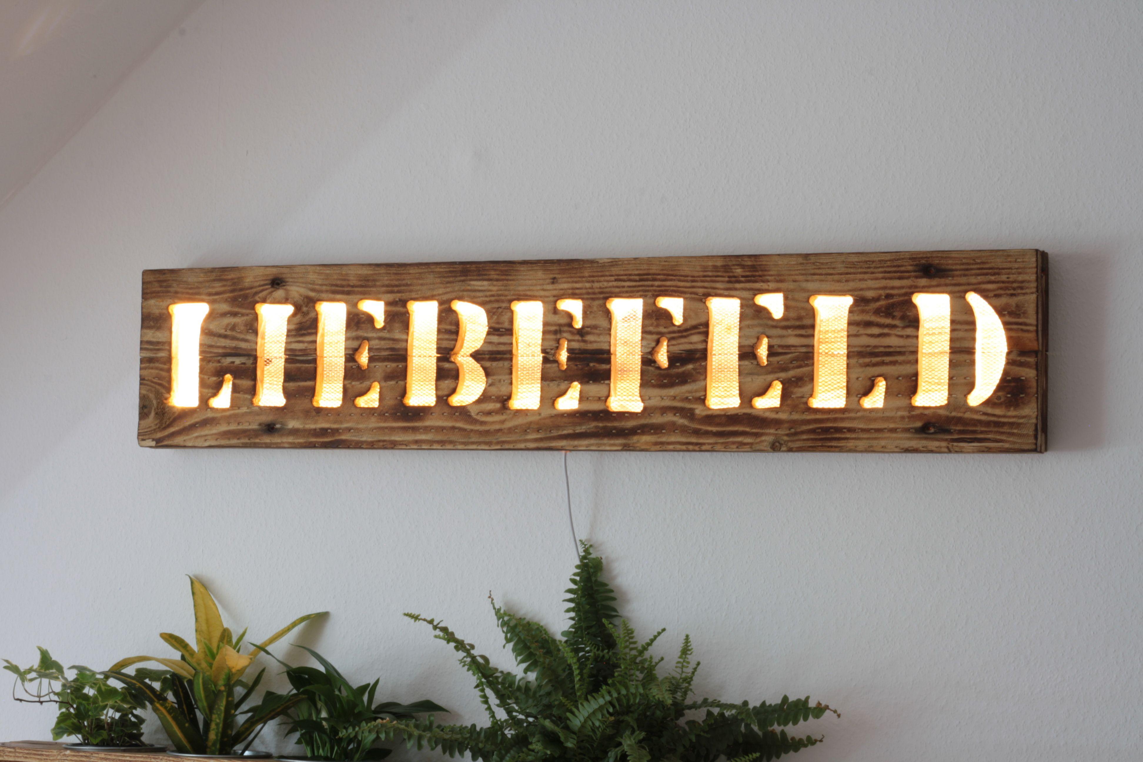 Liebefeld Leuchtschild Leuchtreklame Leuchtschild Leuchtreklame Vintage Sachen