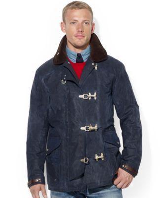 30984d10b0 Polo Ralph Lauren Oilcloth Fireman's Jacket - Coats & Jackets - Men ...