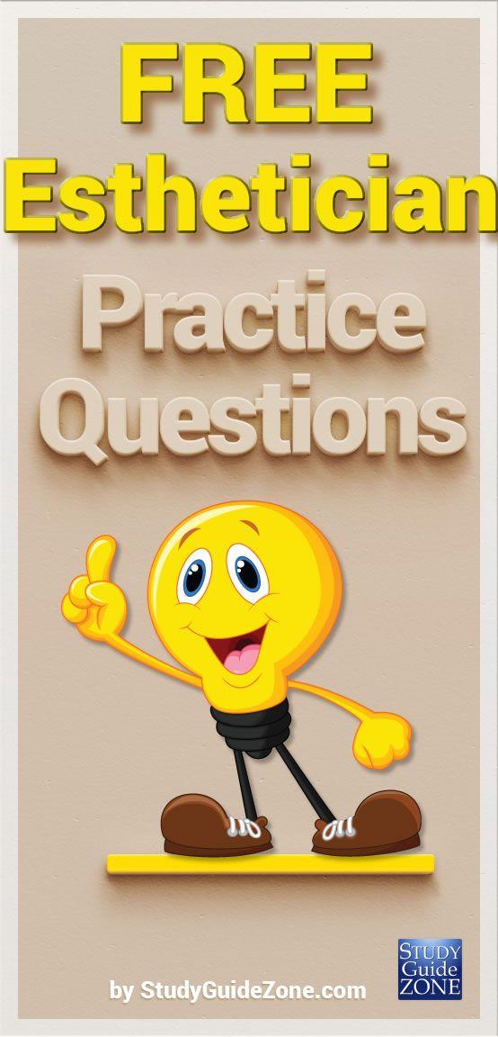 Esthetician Study Guide Free Esthetician Practice Test Act
