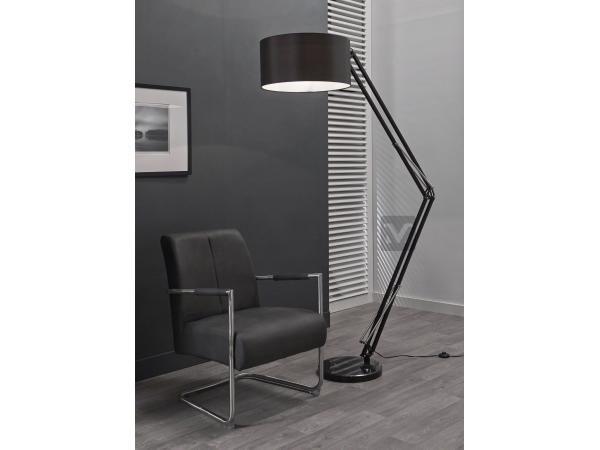 Lampa Stojąca Calypso czarna ZIJLSTRA mm0443708, ZIJLSTRA - Wyposażenie wnętrz