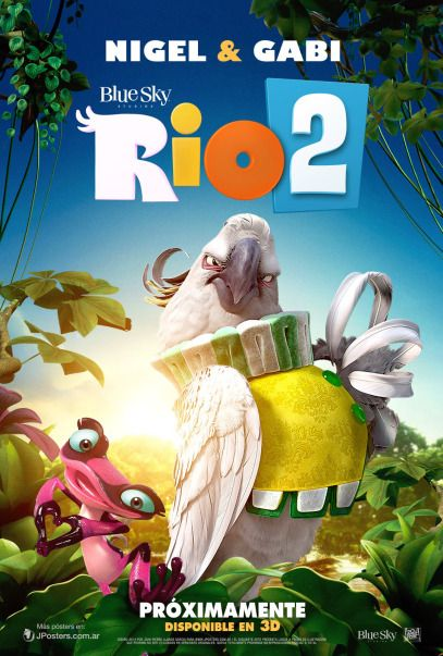 Filme Rio 2 2014 Com Imagens Rio 2