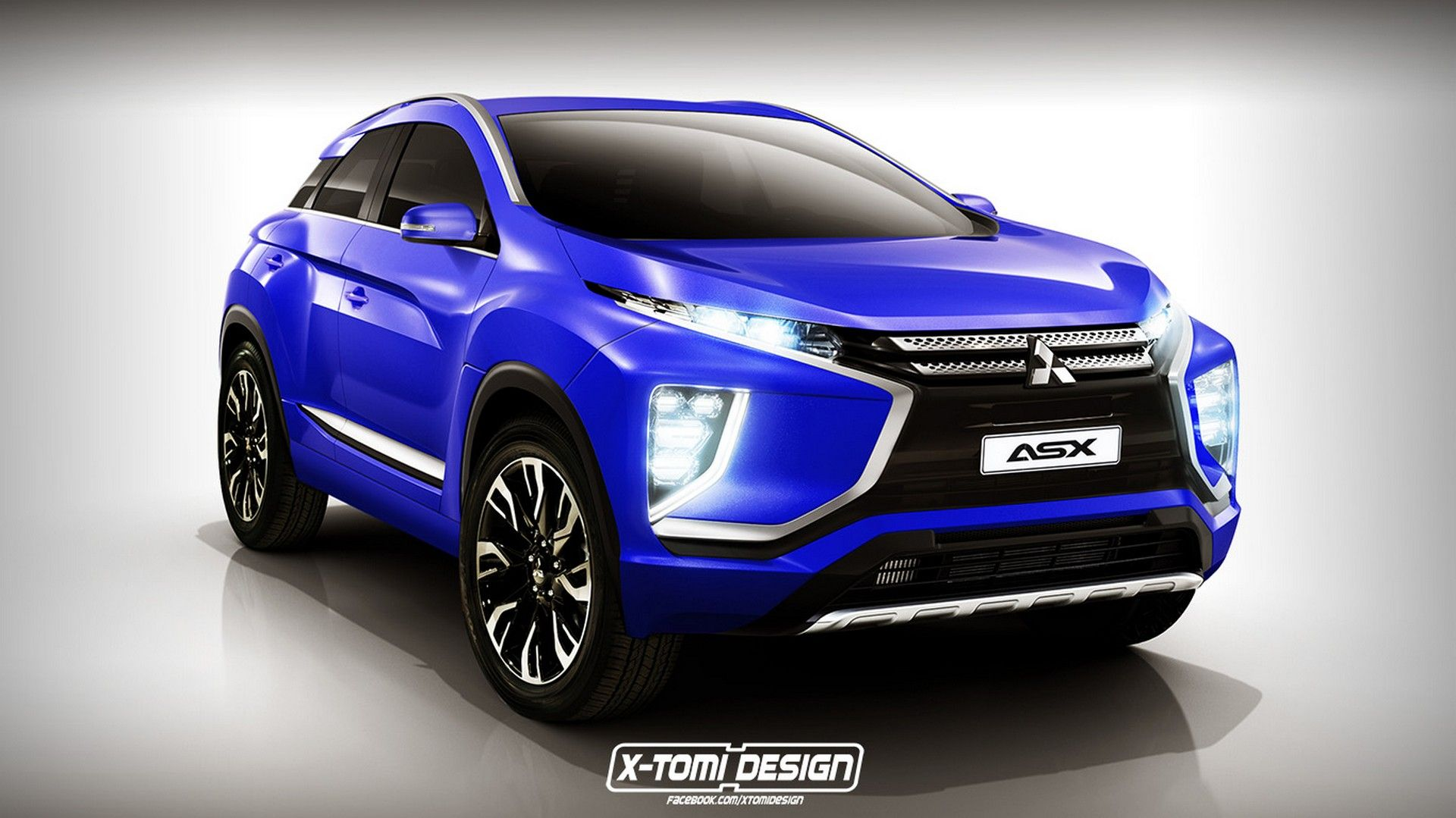 2019 mitsubishi asx concept while the normal rise of. Black Bedroom Furniture Sets. Home Design Ideas