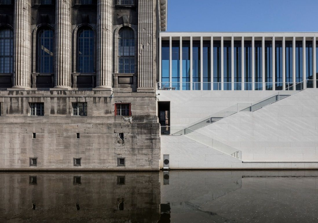 Gallery Of David Chipperfield S New Museum Island Gallery Opens In Berlin 2 David Chipperfield Architects Museum Island New Museum